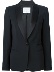 Dondup Shawl Collar Blazer Black