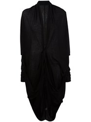 Barbara I Gongini Drawstring Cardigan Black