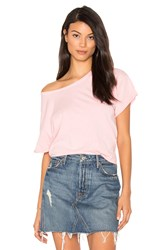 Joe's Jeans Hunter Crop Tee Pink