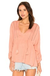 Amuse Society Cool Breeze Top Pink
