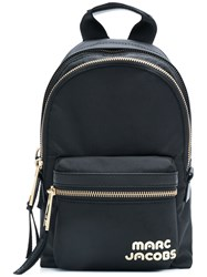 Marc Jacobs Mini Logo Backpack Black