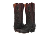 Lucchese Gemma Ombre Red W Studs Women's Shoes