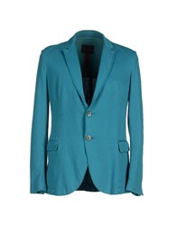 Ianux Suits And Jackets Blazers Men Turquoise