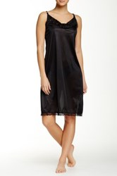Heavenly Secrets Spaghetti Strap Full Slip Black