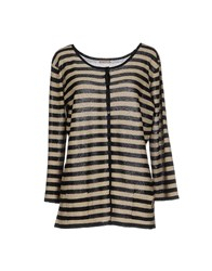 Galliano Knitwear Cardigans Women Gold