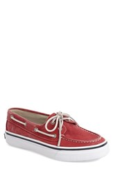 Men's Sperry 'Bahama' Boat Shoe Red