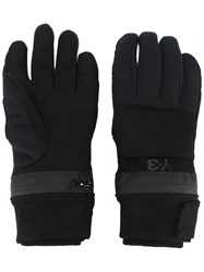 Y 3 Snow Gloves Black
