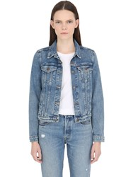 Levi's Washed Cotton Denim Jacket
