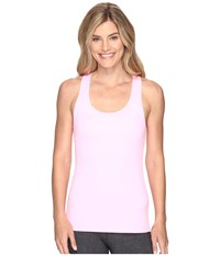 Lorna Jane Premonition Excel Tank Top Pale Fairy Floss Women's Sleeveless Pink