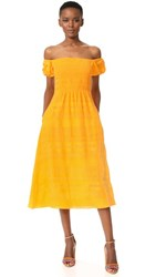 Tanya Taylor Zanna Dress Marigold