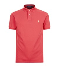 Polo Ralph Lauren Custom Fit Mesh Shirt Male Red