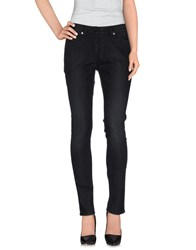 Neil Barrett Denim Denim Trousers Women Black