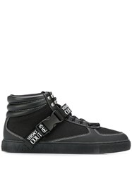 Versace Jeans Couture Contrast Stitching High Top Sneakers 60