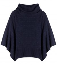 Polo Ralph Lauren Crystal Wool And Cashmere Sweater Blue