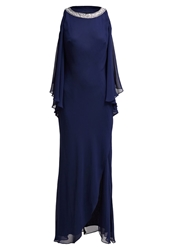 Mascara Maxi Dress Navy Dark Blue
