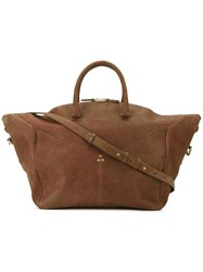 Jerome Dreyfuss Gerald Tote Women Calf Leather One Size Brown