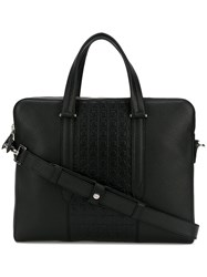 Salvatore Ferragamo Giancini Briefcase Black