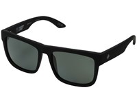Spy Optic Discord Soft Matte Black Happy Gray Green Polar Sport Sunglasses