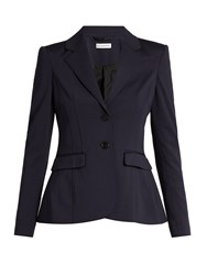 Altuzarra Fenice Single Breasted Blazer Navy