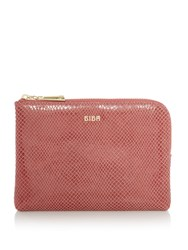 Biba Mini Leather Pouch Pink