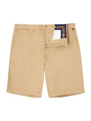 Lyle And Scott Golf Cotton Stretch Chino Shorts Sand