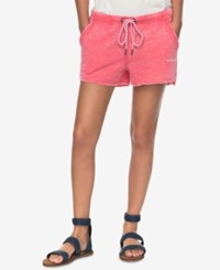 Roxy Juniors' One Call Away Pull On Shorts Pink