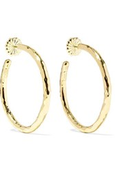 Ippolita Classico 18 Karat Gold Hoop Earrings One Size