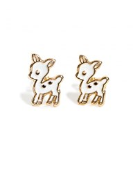 Pixie Market Mini Bambi Stud Earrings