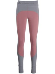 Adidas By Stella Mccartney Panelled Leggings Pink