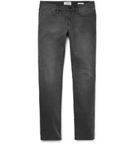 Frame L'homme Slim Fit Stretch Denim Jeans Gray