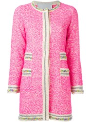 20 52 Cuban Cardigan Pink Purple
