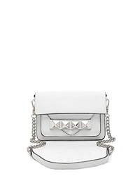 Linea Pelle Crossbody Grayson Bar White