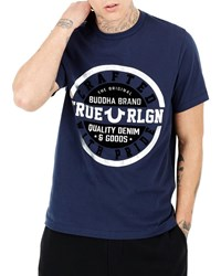True Religion Crafted Graphic Short Sleeve T Shirt 4100 Ace