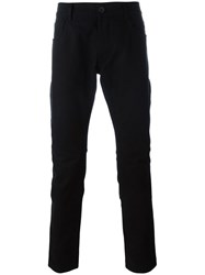 Rick Owens Slim Fit Jeans Black