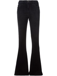 Current Elliott 'The High Rise Low Bell' Jeans Black