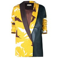 Leka Swallow Jacket Black Yellow Orange