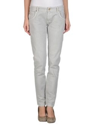 Fred Mello Denim Pants Light Grey