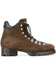 Dsquared2 'Whistler' Ankle Boots Brown
