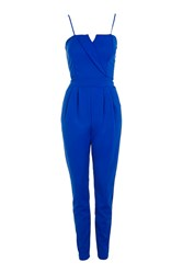Wal G Tailored Detail Jumsuit By Blue
