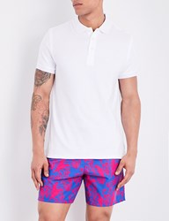 Vilebrequin Pacific Towelling Polo Shirt White