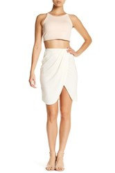 Lovers Friends Rosemary Wrap Skirt White
