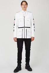 Hood By Air Military Jacket White
