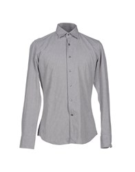 Glanshirt Shirts Shirts Men Light Grey