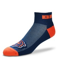 For Bare Feet Chicago Bears The Cuff Ankle Socks Navy