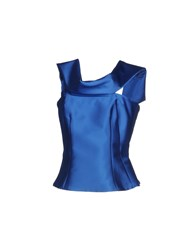 Io Couture Tops Blue
