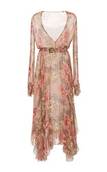 Philosophy Di Lorenzo Serafini Long Sleeve Belted Dress Floral