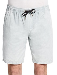 Ezekiel Kamden Acid Wash Cotton Shorts