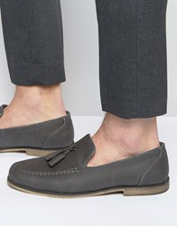 New Look Tassel Loafers In Grey Grey