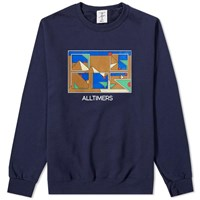 Alltimers Puzzle Crew Sweat Blue