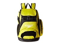 Speedo Teamster Backpack 35L Blazing Yellow Black Backpack Bags
